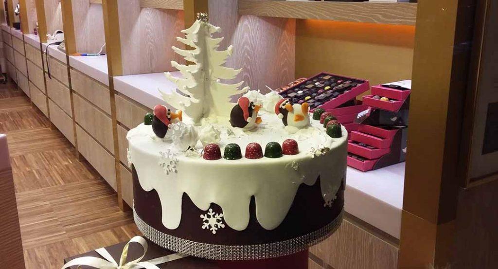 ChocolateCake christmas Brussels