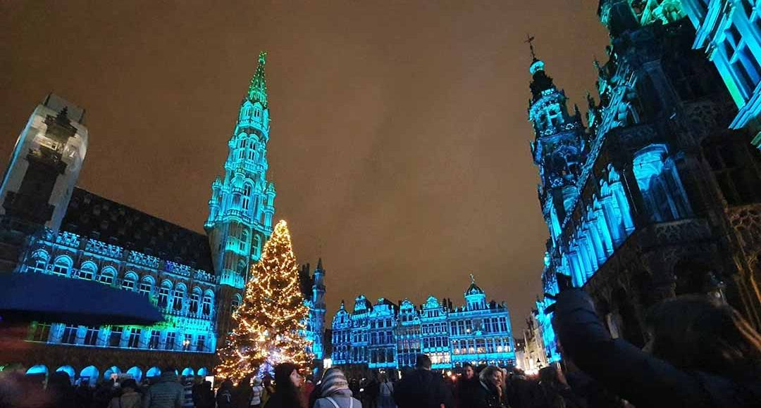 GrandPlace Brussels christmas