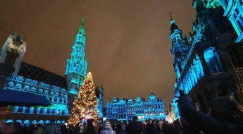 GrandPlace Brussels christmas