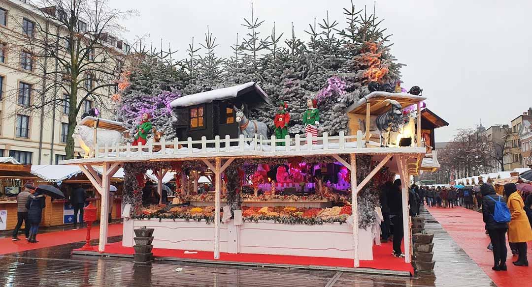 Vismet Brussels christmas market