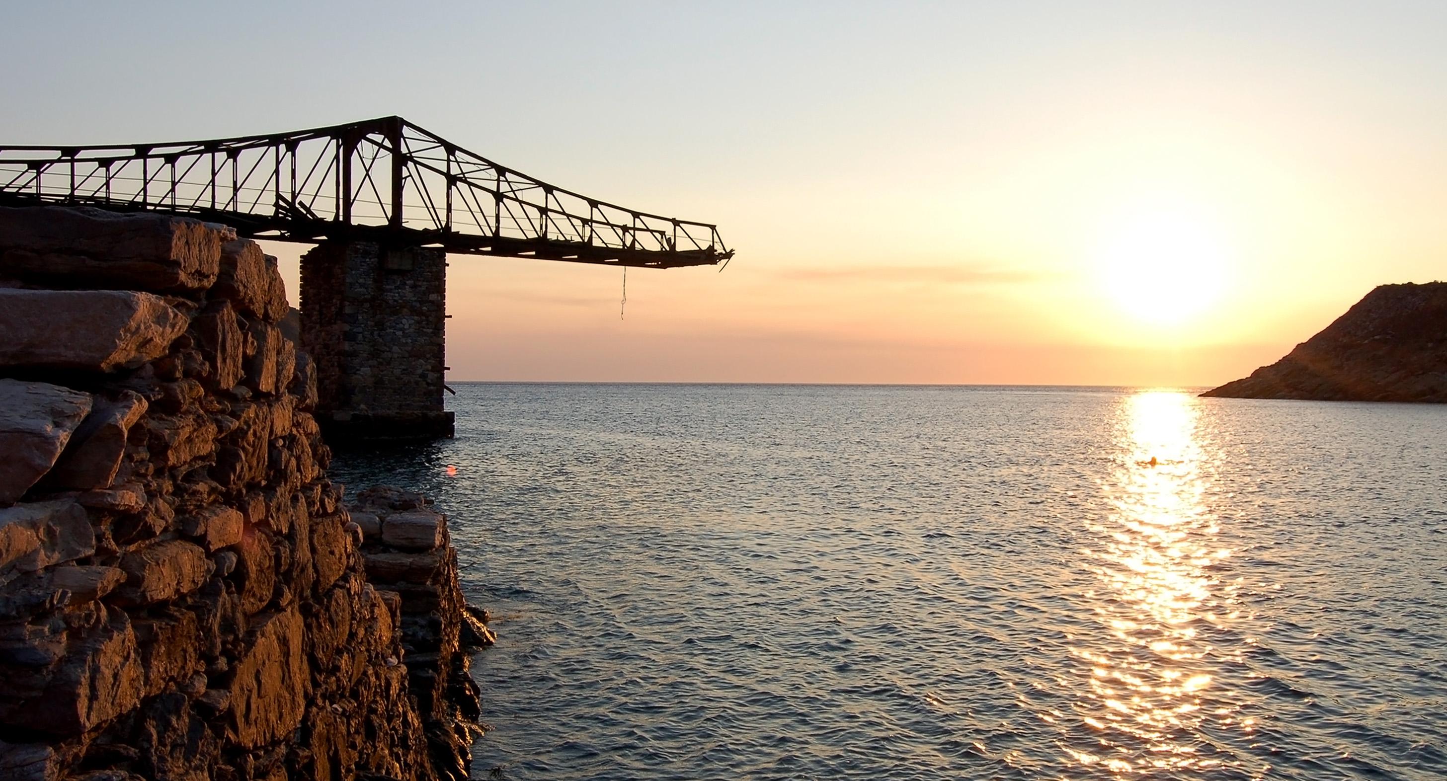 Megalo Livadi sunset
